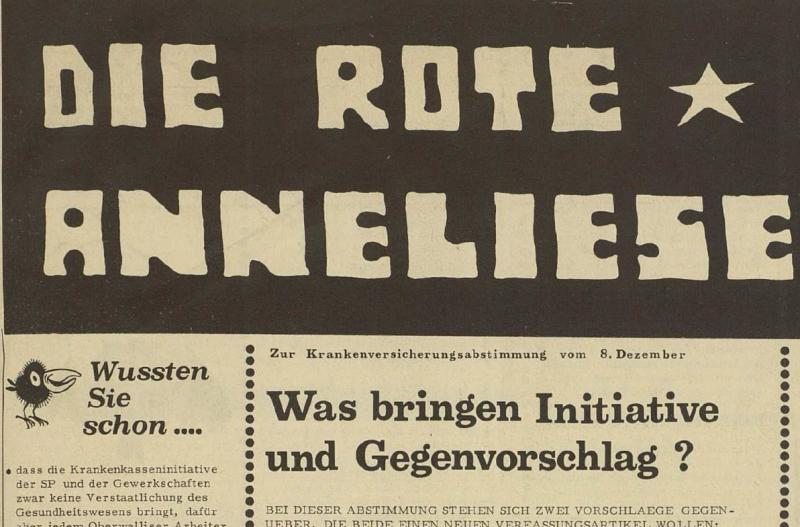 Die Rote Anneliese, 8.12.1971